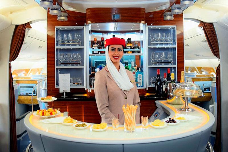 Emirates Business Bar